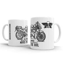 JL Honda VFR400 NC30 inspired Motorcycle Art – Gift Mug