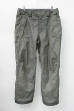 Columbia Men's Gray Omni-Tech Waterproof Breathable Snow Pants Size M