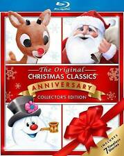 Christmas Classics with Frosty, Rudolph and Santa [Blu-ray], Good DVD, Mickey Ro