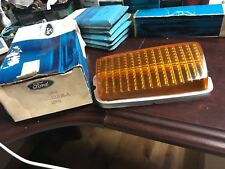 NOS OEM Ford 1971/73 AMBER Mercury Comet Park Light Lense 1970 Cougar Lamp XR7