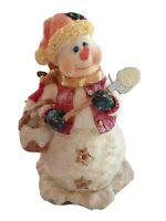 Cracker Barrel Musical Snowman Frosty Music Song Christmas Holiday Figurine