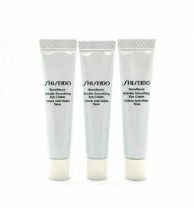 3 x Shiseido Benefiance Wrinkle Smoothing Eye Cream Travel Size 5ml =Total 15ml