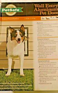 "Petsafe Expandable aluminum 8 X 11"" Medium Wall Entry Pet Dog Door Closing Panel"