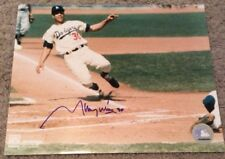 8 X10 SIGNED PHOTO SIGNED BY LOS ANGELES DODGERS MAURY WILLS