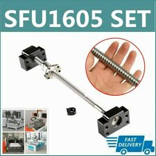 Ballscrew Rm1605 Sfu1605 250mm 1500mm C7 W End Machined Bkbf12 End Support Cnc