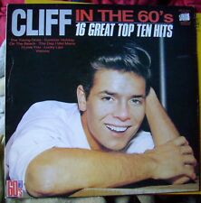 """CLIFF RICHARD(w Shadows) uk LP record """"CLIFF IN THE 60's"""" MFP label"""