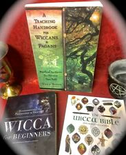 3 SCS *1) TEACHING HANDBOOK FOR WICCANS *2) WICCA FOR BEGINNERS *3) WICCA BIBLE