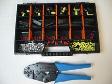 15 x AMP Superseal Stecker Set 2 + 3-polig + Crimpzange + Box Auto Motorrad,Boot