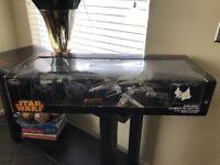 Star Wars Ultimate Diecast Set Tie Fighter Millennium Falcon X Wing Fighter
