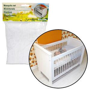 Moskitonetz Fliegengitter-Betthimmel-Mückennetz Fliegenschutz Kinderbett Babybet