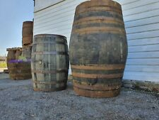 More details for large 500ltr giant scotch whiskey oak wooden bourbon barrel ice bath plunge pool