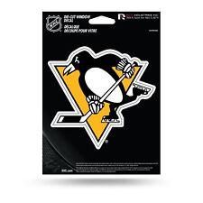 Pittsburgh Penguins Decal Sticker Auto Car Die Cut Rico NHL Medium VDCM