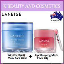 [LANEIGE] Water Sleeping Mask 70ml + Lip Sleeping Mask 20g (2 piece SET)