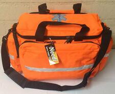 NEW Medical Emergency EMS EMT Paramedic Trauma Gear Bag - Neon Orange