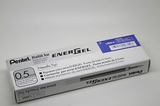 12 pcs Pentel Energel  Refill 0.5mm Blue color Needle  Tip one dozen in box