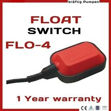 FLOAT SWITCH 5M WATER TANK LEVEL CONTROLLER SENSOR LIQUID FLUID CONTRACTOR PUMP