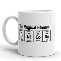 Unicorn The Magical Element Coffee Mug Funny Science Ceramic Cup-11oz