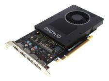 Dell / Nvidia Quadro P2200 Grafikkarte // 5 GB GDDR5X // 4x DP // P/N: 0PX8M5