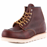 Red Wing 6-inch Moc Toe Mens Boots Brown 08138
