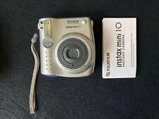 Fujifilm Instax Mini 10 fotocamera in buonissima condizione Inscatolato Con Manuale