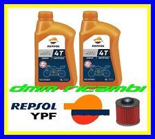 Kit Tagliando YAMAHA DRAG STAR 125 XVS 01>02 Filtro Olio REPSOL 10W40 2001 2002