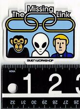 "ALIEN WORKSHOP STICKER Alien Workshop The Missing Link 2.75"" x 2.25"" Skate Decal"
