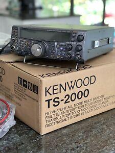 Kenwood TS-2000 HF VHF UHF Transceiver.