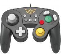 Hori Battle Pad Gamecube Style Controlador - Zelda Edición Para Nintendo Switch