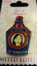 Disney MULAN January Princess Eau de Magique JEWELED PERFUME BOTTLE  LE Pin