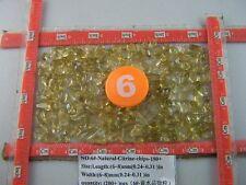 180+ Natural Little Clear Citrine Quartz Crystal Stone Rock Polish Chips Healing