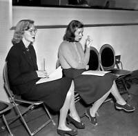 OLD CBS RADIO TV PHOTO The Goldbergs A Cbs Radio Comedy, Delma Byron 1
