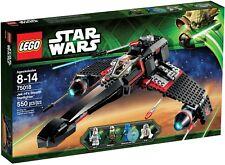 LEGO Star Wars 75018 JEK-14's Stealth Starfighter, RARE Retired COMPLETE IN BOX