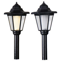 LED Garden Lights Lampost Solar Powered Borders Pathway Driveway Outdoor Patio
