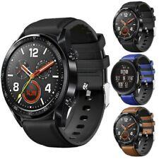 Leder Silikon Armband Uhr Strap Für Huawei Watch 2 / GT 2 46mm /Active/Pro DHL