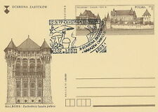 Poland postmark LODZ - mushrooms
