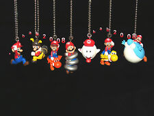 Takara Tomy Super Mario Galaxy 2 keychain gashapon figure. (Full set 7 Pcs)