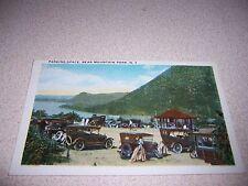1921 PARKING AREA BEAR MOUNTAIN PARK NY. ANTIQUE POSTCARD
