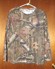 Ladies Mossy Oak Break Up Infinity Camo L/S T-Shirt - New - Large