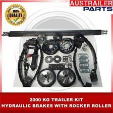 DIY 2000KG HYDRAULIC BRAKES TRAILER KIT WITH ROCKER ROLLER