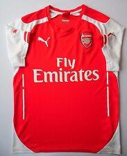 5/5 SIZE S Arsenal HOME football shirt 2014~2015 SHIRT JERSEY ORIGINAL PUMA