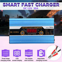 KFZ Auto PKW Intelligentes Batterieladegerät 12V 30A Batterieerhaltungsgerät DE