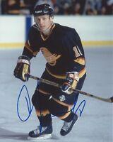 Igor Larionov Signed 8×10 Photo Vancouver Canucks Autographed COA