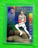 MARVIN BAGLEY SILVER PRIZM ILLUSIONS CARD KINGS 2019-20 PANINI ILLUSIONS REFRACT