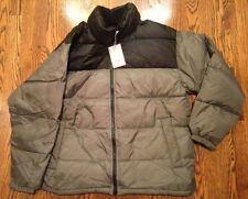 Gap The Warmest Jacket Down Mens M Black/Grey Nwt