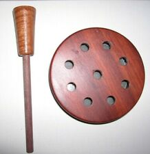 Custom Bloodwood Slate over Glass Turkey Friction Call with Striker