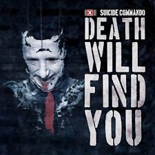 SUICIDE COMMANDO - DEATH WILL FIND YOU (LIMITED EDITION)   CD SINGLE NEUF