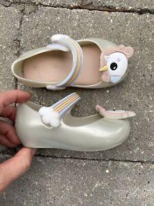 mini melissa Kids/' Mini Ultragirl X Mary Jane Flat  7 Toddler Blk Petrol