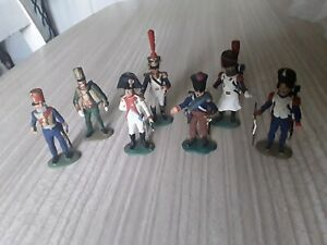 7 SUPERB TRADITION SOLDIERS ALL STAMPED NF 4E - NF 1A - NF 6B ETC
