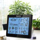 NEW LCD Wireless Weather Station Forecast Temperature Humidity Barometer Time EU
