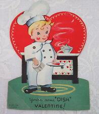 "Mechanical Vintage Valentine, ""You're Some Dish Valentine!"" A-Meri-Card"